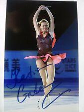 EKATERINA GORDEEVA Hand Signed Autograph 4X6 Photo - OLYMPIC CHAMPION SKATER