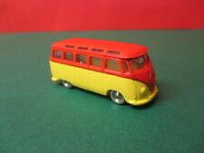 LEGO H0 / 1:87 VW Sambabus rot-gelb, Vintage 60er Jahre, leicht bespielt