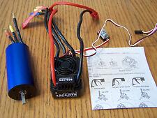 Redcat Racing Terremoto V2 1/8 WP-SC8-RTR Brushless ESC & 2260kv Motor 5mm Shaft