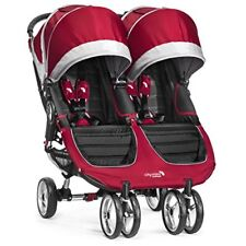 Baby Jogger City Mini Double Crimson/gray Bj0131223640