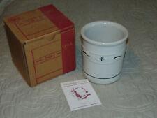 Longaberger Utensil Crock In Original Box - Heritage Green - #31429