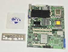 SUPERMICRO X7DVL-I SERVER MOTHERBOARD WITH COVER PLATE