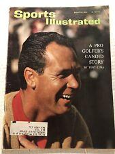 1964 Sports Illustrated TONY LEMA A Pro GOLFERS Story NCAA Final Four MICHIGAN