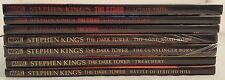 Lot of 7 Stephen King Comic Hardbacks ~THE STAND~THE DARK TOWER~Marvel