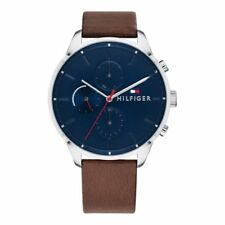 Reloj Tommy Hilfiger 1791487 Chase Hombre 44 mm Acero Inoxidable