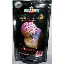 100g Okiko Floating Pellets Platinum Big Head Fast Cichlid Flowerhorn Fish Food