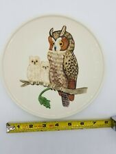 Goebel W Germany Handpainted 1979 Mothers Series Fifth Edition Owls