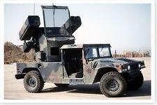 Avenger Air Defense System On M-998 HMMWV Desert Shield 8x12 Silver Halide Photo