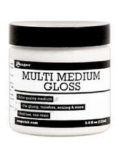 RANGER  Multi Medium GLOSS + BRUSH Medium 3.8oz 113ml INK41566
