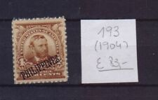!  Philippines  1904.  Stamp. YT#193. €83.00 !