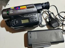 SONY CCD-TR760E ANALOGUE CAMCORDER (Hi8 8mm Video 8 Playback SP/LP )