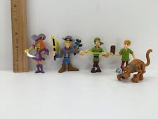 SCOOBY DOO PIRATE Lot of 5 Figures Fred Shaggy Shiver Me Timbers