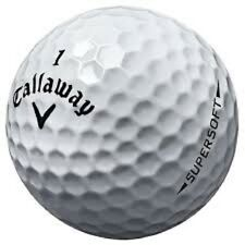 New listing 100 Callaway Supersoft Used Golf Balls AAA+