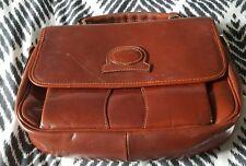 Vintage COBB & CO Brown Leather Handbag Bag B39