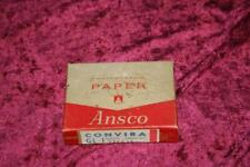"Vintage Ansco Photographic Paper Convira Glossy 2.5"" x 3.5"" 100 Sheets SEALED"