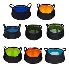 Folding Camping Bucket Collapsible Wash Basin Portable Water Bag Outdoor Travel