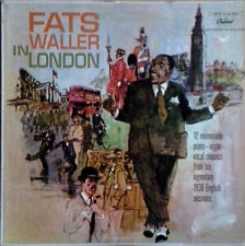 FATS WALLER - IN LONDON - CAPITOL LP - CAPITOL OF THE WORLD - RECORDED 1938