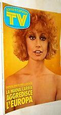 TV Sorrisi e Canzoni n.22/1975 con in copertina Raffaella Carrà