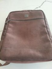 NWOT $275 BRIC'S Milano Italy Cognac Tumbled Brown Leather Backpack laptop slot