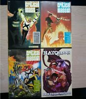 Critical Mass 1-2, 4, Rat Queens 2, Lot of 4 Graphic Novels, English, Shadowline