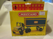 1981 Meccano Lorry Container Truck Model Erector Kit 08-6203 France (Devil Doll)