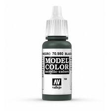 Vallejo Model Color: Black Green - VAL70980 Acrylic Paint Bottle 17ml 100