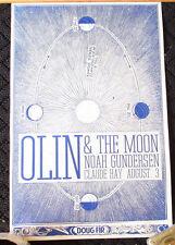ORIGINAL RARE Olin and the Moon Gig Poster Celestial REALLY COOL! Portland