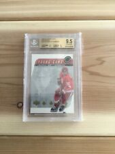 2002-03 UD Henrik Zetterberg Young Guns Exclusives /75 Super Rare! Rookie RC