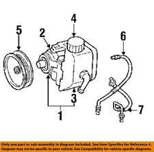 Jeep CHRYSLER OEM 91-96 Cherokee-Power Steering Pressure Hose 52038015