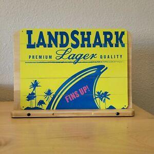 Landshark Lager - Brewing Beer metal sign NEW 9x12