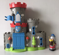 ELC Happyland Sherwood Castle Toy with Knight and Horse Figure