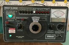 Sprague TEL-OHMIKE TO-6 capacitor analyzer, tested and working