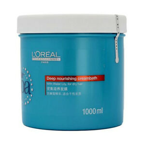 L'oreal Hair Spa Deep Nourishing Cream bath for Dry and Damaged Hair 1000ml NEW
