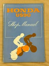 Used Genuine Honda US90 Shop Manual