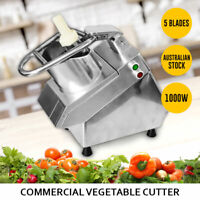 Commercial Vegetable Cutter Food Processor Slicer Salad Cheese Shredder NEW