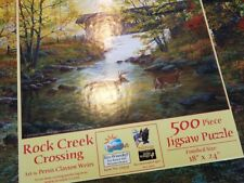Puzzle 500 Teile Rock Creek Crossing Jigsaw Puzzle