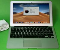 "Apple MacBook Air A1465 11,6"" Laptop i5 1,4GHz 4GB 256GB SSD (2014) QWERTY"