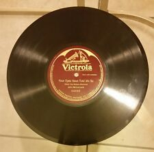 "JOHN MCCORMACK Your Eyes Have Told Me So 10"" 78 RPM Single Sided Victrola 64860"