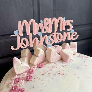 Mr & Mrs / Mr Mr Cake Topper - Wedding - Engagement - Cake Decor - 3D Printed