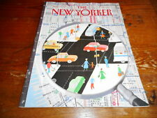 AUG 20 1990 NEW YORKER vintage magazine - INTERSECTION - MAGNIFYING GLASS