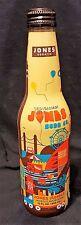 Collectible Jones Soda Glass Bottle In Full Color Plastic 12 fl oz