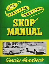 Mercury Service and Overhaul Manual 1942 1946 1947 1948 Repair Shop Maintenance
