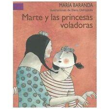 Marte y las princesas voladoras (A La Orilla Del Viento) (Spanish Edit-ExLibrary
