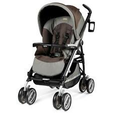 Einsitzer-Pliko-Kinderwagen mit Regenschutz