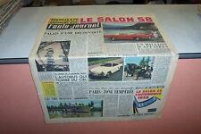 L AUTO JOURNAL N° 206 15 09 1958 LE SALON 58