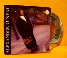 "Cardsleeve 3"" MINI CD Alexander O'Neal Our First Christmas 3TR 1988 Soul Pop"