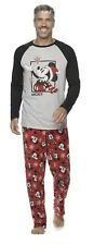 Disney's Mens Jammies For Your Families Mickey Pajama Set Size LT Large Tall NEW