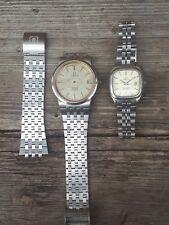 2 Relojes Omega para hombre de ville cuarzo y Damas Seamaster Cuarzo 4 Repuestos Reparación