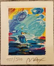 Peter Max lithograph signed by the artist