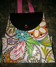 "🍷 New- Hallmark $3.99 ""Multi Color Floral Design"" - Gift Bag 🍷"